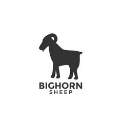 Sheep logo icon design template vector