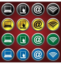 Web icons icons vector