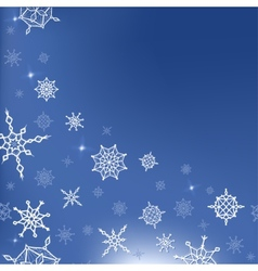 winter year template for card vector image