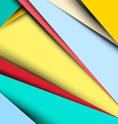 Material Design Retro Background - Pattern vector image