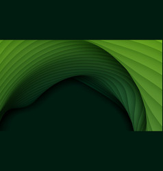 3d abstract background with paper cut vector