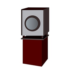 A speaker vector