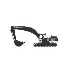 Excavator vector