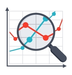 Financial Analysis Concept vector image