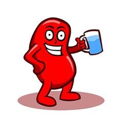 Healthy Kidney vector
