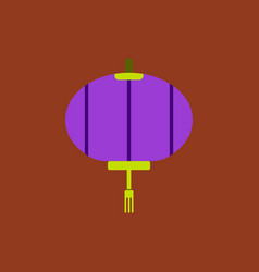 Lantern of chinese new year vector