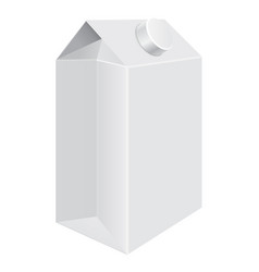 milk cardboard packaging universal liquid vector image