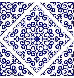 porcelain decorative design vector image
