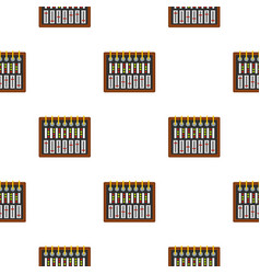 studio sound mixer pattern seamless vector image