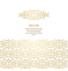 Template decorative frame vector