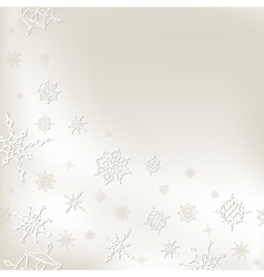 Winter christmas new year template for card vector image