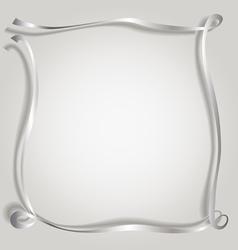 Silk ribbon copy vector image