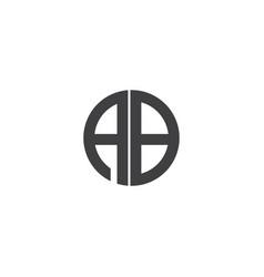 Ad-letter-logo-design vector