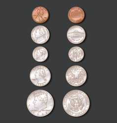 Coins Color vector