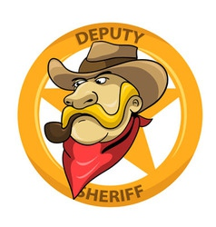 Deputi Sheriff vector