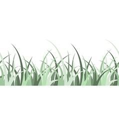 Seamless grass vector