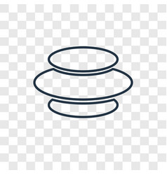 vortex concept linear icon isolated on vector image