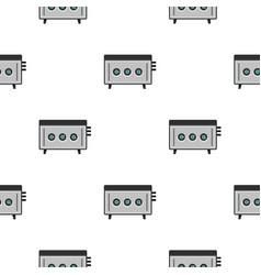Cd player pattern seamless vector