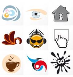 design symbols vector image