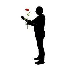Proposal of marriage vector image