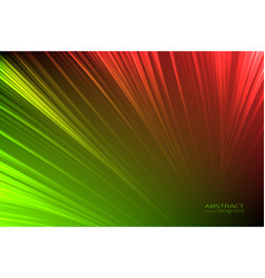 abstract background glow neon green red light vector image
