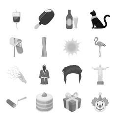 alcohol history food and other web icon in vector image