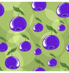 blueberry background vector image