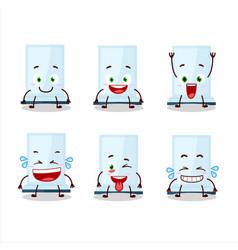 Cartoon character aeropress with smile vector