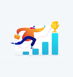 goals and objectives concept vector image
