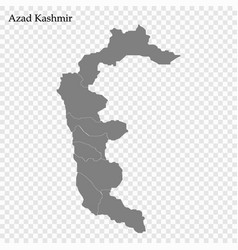 High quality map is a province pakistan with vector