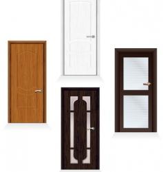 Modern doors vector