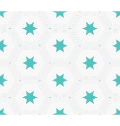 Modern stylish hexagon star texture Delicate vector