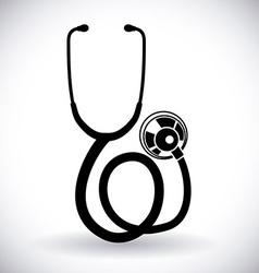 stethoscope design vector image vector image