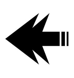 arrows forward vector image vector image