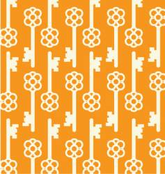 key pattern vector image vector image