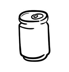 can icon Soda and drink design graphic vector image vector image