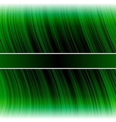 Abstract warped green stripes colorful background vector image vector image