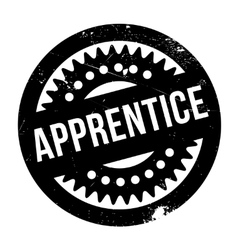 Apprentice rubber stamp vector