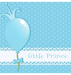 Background Little Prince vector image