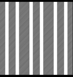 black white diagonal striped seamless pattern vector image