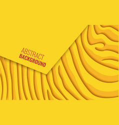 Bright yellow horizontal abstract background vector