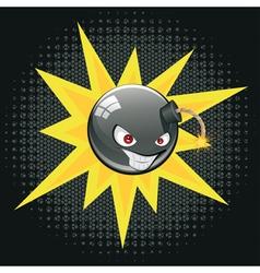 Evil Round Bomb2 vector