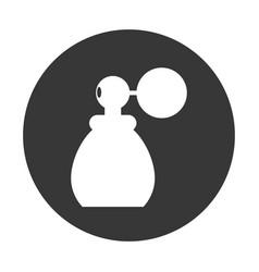 fragrance glass bottle vector image