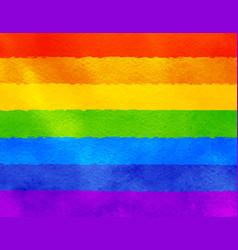 grunge of lgbt flag vector image