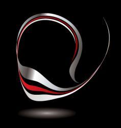 logo swirl balk vector image