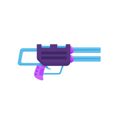 space laser ray gun toy blaster vector image