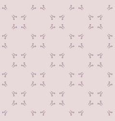 Subtle seamless pattern with small curved shapes vector