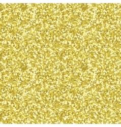 Gold glitter texture Golden background vector image