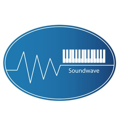 Soundwave vector image