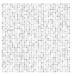 abstract with binary code vector image
